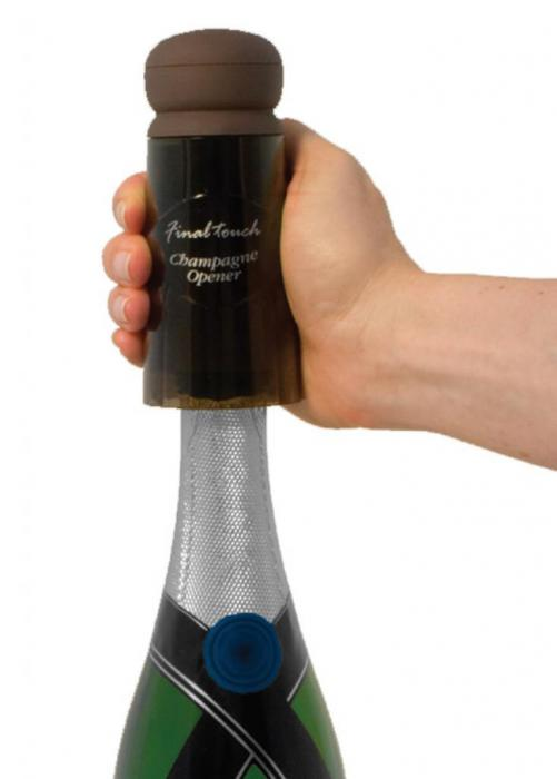 Desfăcător Şampanie Final Touch & Şampanie cu Aur-big