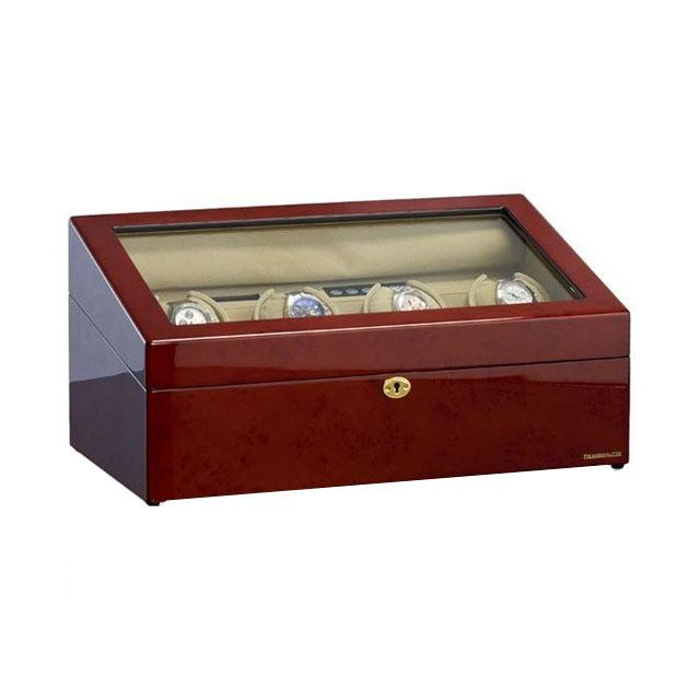 Watch Winder München Brown 4 by Designhütte – Made in Germany 1