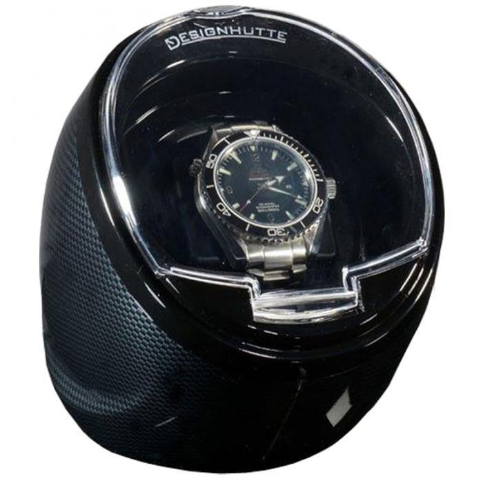 Watch Winder by Designhutte seria Optimus Karbon - Made in Germany 0