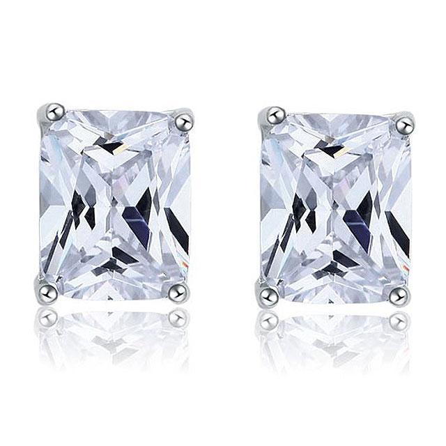 Cercei Borealy Argint 925 Diamonds Square-big