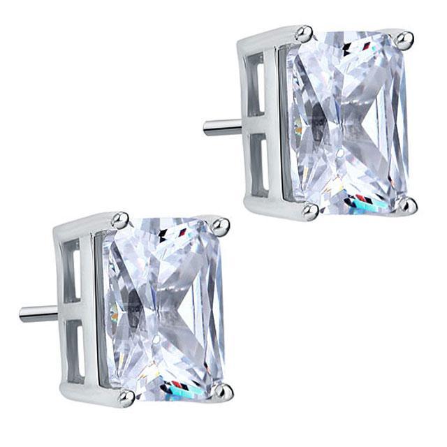 Cercei Borealy Argint 925 Diamonds Square 2