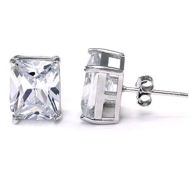 Cercei Borealy Argint 925 Diamonds Square 3