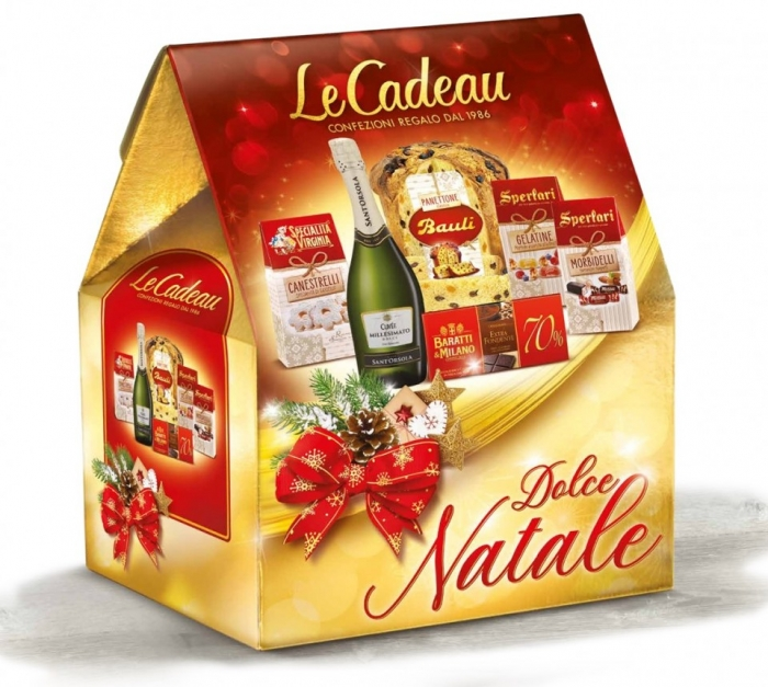 Cod de Craciun Dolce Natale, Panettone - 6 piese, made in Italy 1