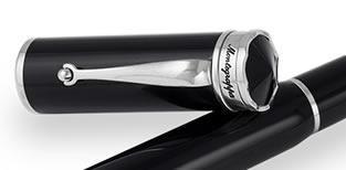 Set Ducale Black Palladium Ballpoint Montegrappa si Note Pad Hugo Boss-big