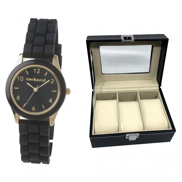 Elegant Time Gift Set Ceas Cacharel si Cutie 3 Ceasuri 0
