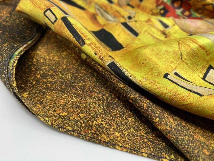 The Lady in Gold Esarfa Matase  - Gustav Klimt 2
