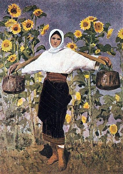 Esarfa Matase Arthur Verona - Floarea soarelui [0]