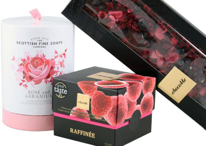 Exquisite Gift with Scottish Fine Soaps & ChocoMe 1