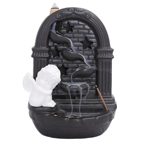 Fantana Ingeras Aromaterapie Fum Curgator cu Efect de Cascada & Set 40 conuri aromatice 3