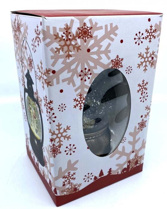 Christmas Felinar Magic  - Nasterea Domnului 19 cm 4