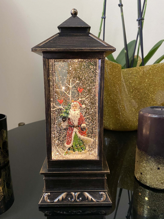 Felinar Mare Magic Christmas Santa Clause 28 cm 1
