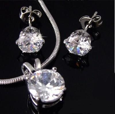 Diamond 3,5ct Set Medalion & Cercei by Borealy-big