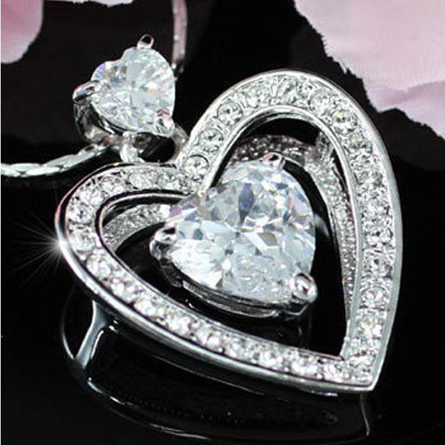 Colier Borealy Diamonds Love... Love... Love...-big