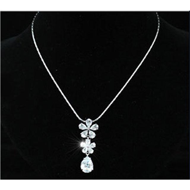 Colier Borealy Diamonds Flowers 4