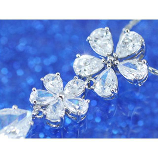 Colier Borealy Diamonds Flowers 6
