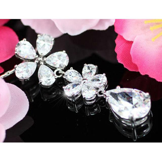 Colier Borealy Diamonds Flowers 5