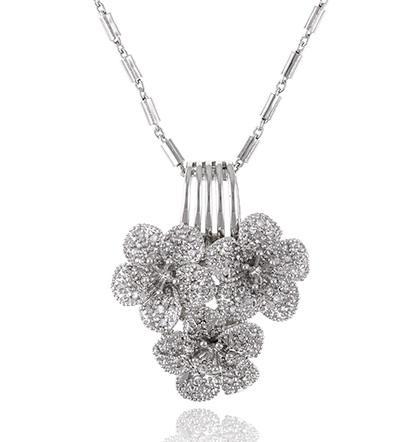Flora Set Medalion, Cercei, Bratara si Inel Borealy-big