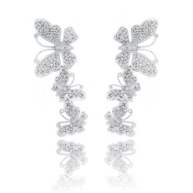 Set Borealy Cercei Colier şi Brăţară Butterfly-big