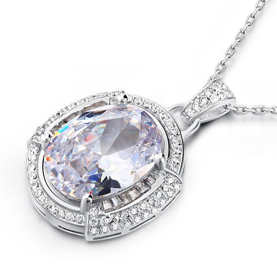 Colier One Passion Simulated Diamonds 925 Sterling Silver [1]