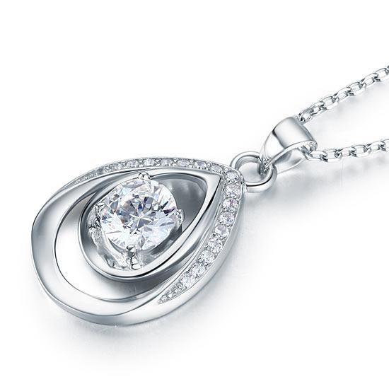 Colier Argint 925 Crystal Tears, by Borealy [1]