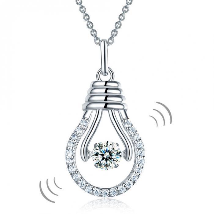 Colier Dancing Crystal Idea by Borealy Argint 925-big