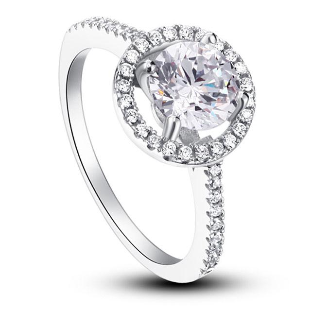 Inel Borealy Zirconiu Simulated Diamond One Marimea 7 1
