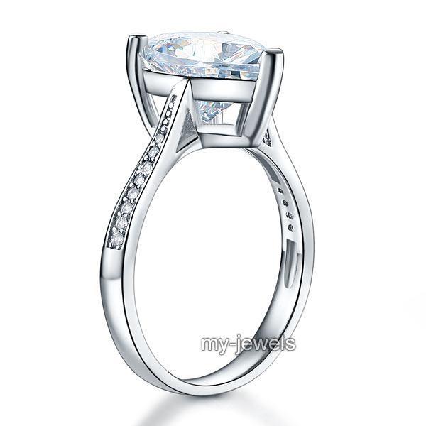 Inel Borealy Argint 925 Precious Crystal Heart, Masura 6 [1]