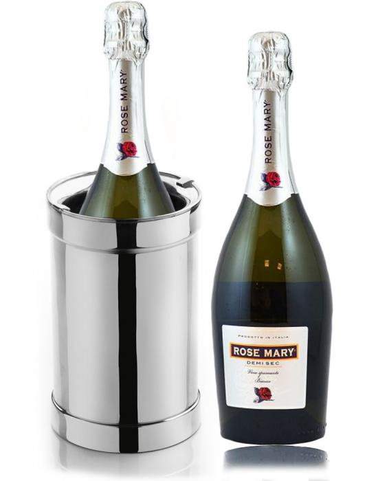 Frapiera Silver Chinelli - Made in Italy & Rose Mary 0