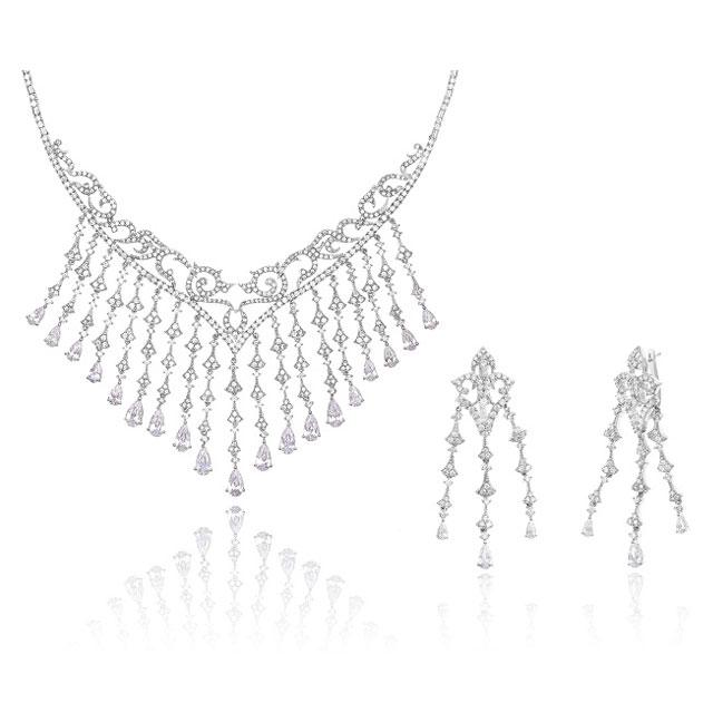 Set Borealy Argint 925 Glamour London Queen Ball 0