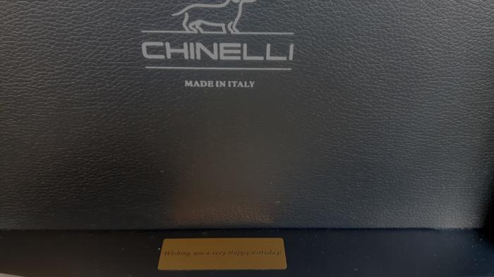 Gold Coffee Set for Two Chinelli - made in Italy 6