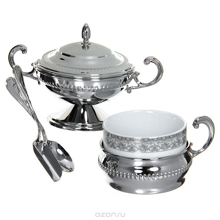 Silver Coffee/ Tea Set for Six by Chinelli - made in Italy 1