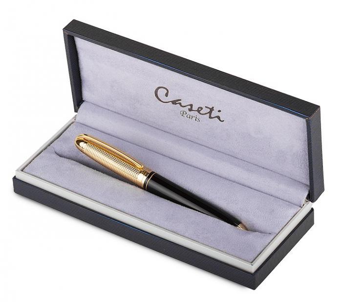 Gold grid black resin Pen by Caseti 0