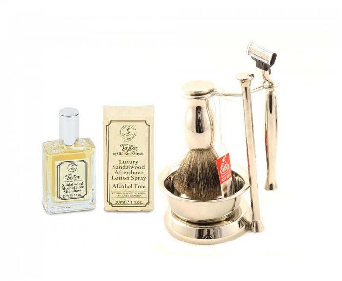 Luxury Shaving Set by Erbe Solingen - Made in Germany 0