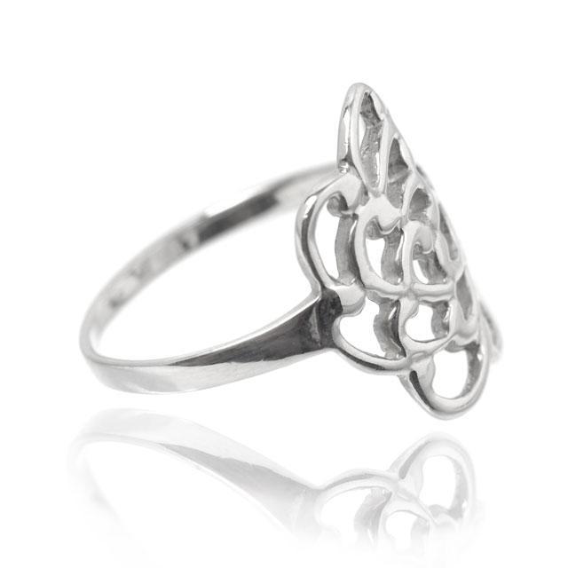 Inel Trandafir Argint 925 by Borealy Marimea 9-big