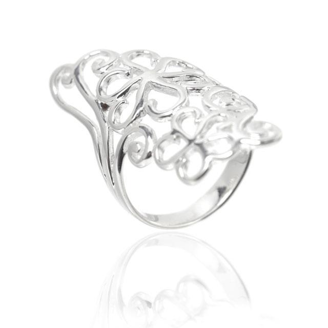 Inel Flowers Argint 925 by Borealy Marimea 8 1