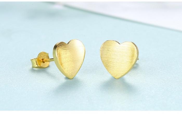 Cercei Borealy Hearts Gold 2