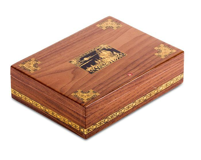 Set Humidor Wiston Churchill by Credan si Butoni Gold Round by Credan 1