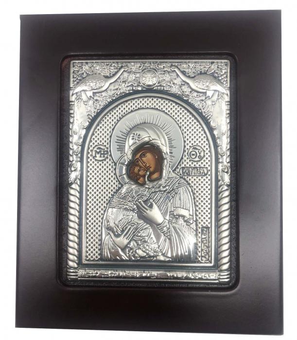 Icoana Maica Domnului si Pruncul din Argint-big