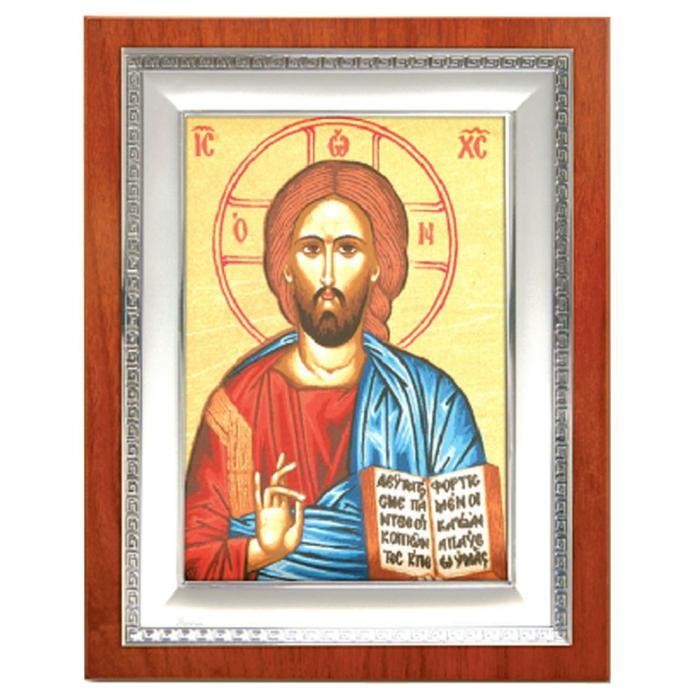 Icoana Iisus Hristos by Credan placata cu aur , made in Spain-big