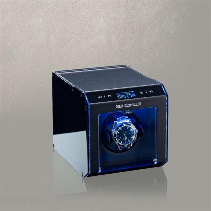Watch Winder Alu Tec LCD by Designhütte – Made in Germany-big