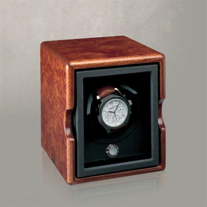 Watch Winder The Single Briarwood by Underwood – Made in Italy-big