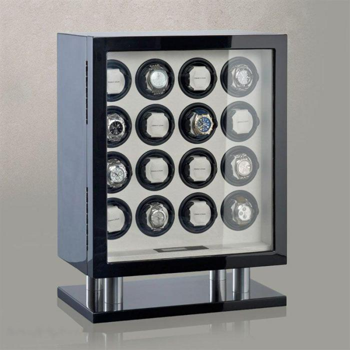 Watch Winder Collector 16 by Heisse & Söhne - Made in Germany 0