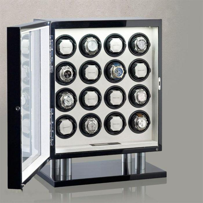 Watch Winder Collector 16 by Heisse & Söhne - Made in Germany 1