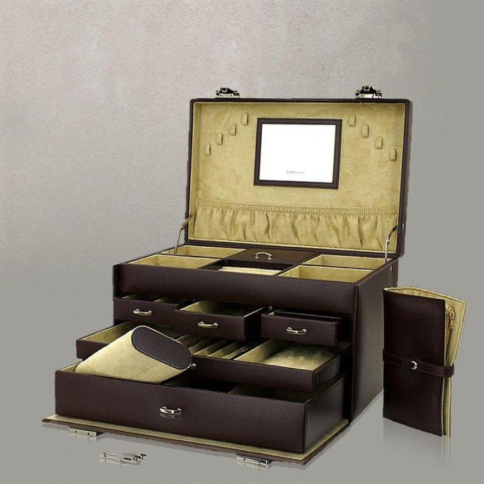 Cutie pentru Bijuterii Alessandro XXL Ruby de la Friedrich – Produs în Germania-big