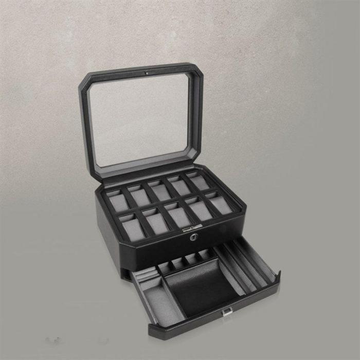Cutia de Ceasuri de Lux pentru 10+ de la Wolf Designs – Produs în Germania-big
