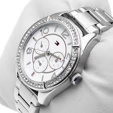 Tommy Hilfiger Lady Fashion Silver Bracelet Watch 1