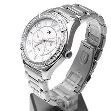 Tommy Hilfiger Lady Fashion Silver Bracelet Watch 3