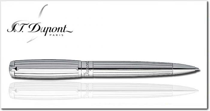 S.T Dupont Elysée Ball Pen - Full Palladium-big