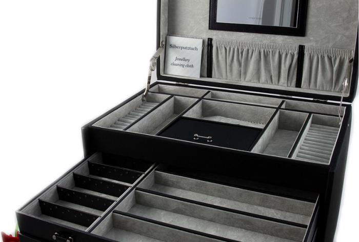 Premium Luxury Jewelry Case colectia Copenhagen by Friederich - Made in Germany-big