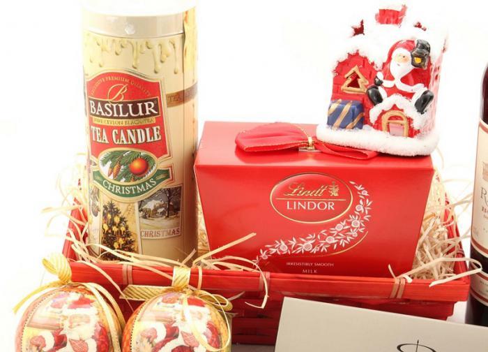 Coş Cadou Craciun Red Santa-big